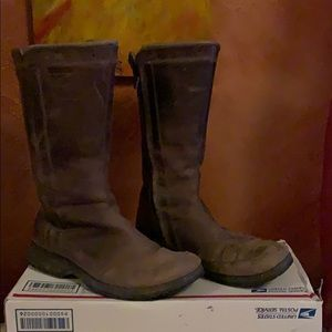 Teva Leather Rain boots